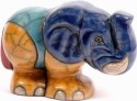 Raku South Africa B804 Elephant Small Big 8