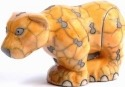 Raku South Africa B817 Leopard Medium Big 8 Yellow