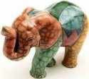Raku South Africa E23 Elephant Walking Extra Large