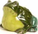 Raku South Africa F32 Frog Medium Green