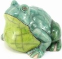 Raku South Africa F33 Frog Large Green