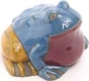 Raku South Africa F36 Frog Large Colours