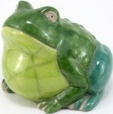 Raku South Africa F40 Frog Extra Large Green