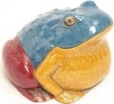 Raku South Africa F44 Frog Giant Colours