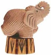 De Rosa Collections 04C Elephant Baby Circus
