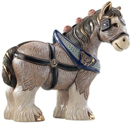 Artesania Rinconada 1026 Clydesdale Emerald Collection