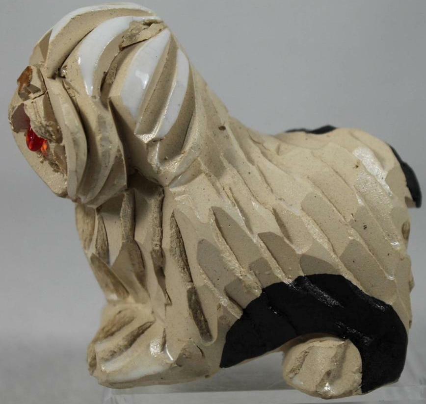 Artesania Rinconada 113 English Sheepdog Adult   Made in Uruguay $0.00