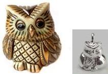 De Rosa Collections 1606 Owl Baby DeRosa Box
