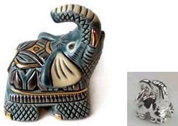 De Rosa Collections 1610 Elephant Baby DeRosa Box