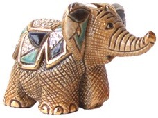 De Rosa Collections 1726 Indian Elephant Baby