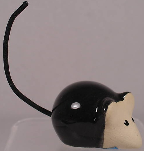 De Rosa Collections 247A Mouse Black Long Tail