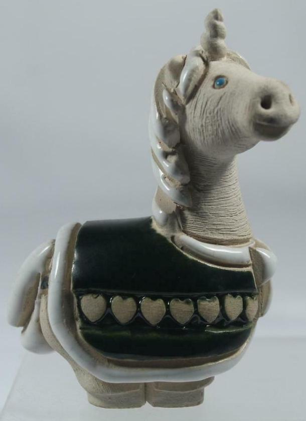 Artesania Rinconada 253B Unicorn Baby Green