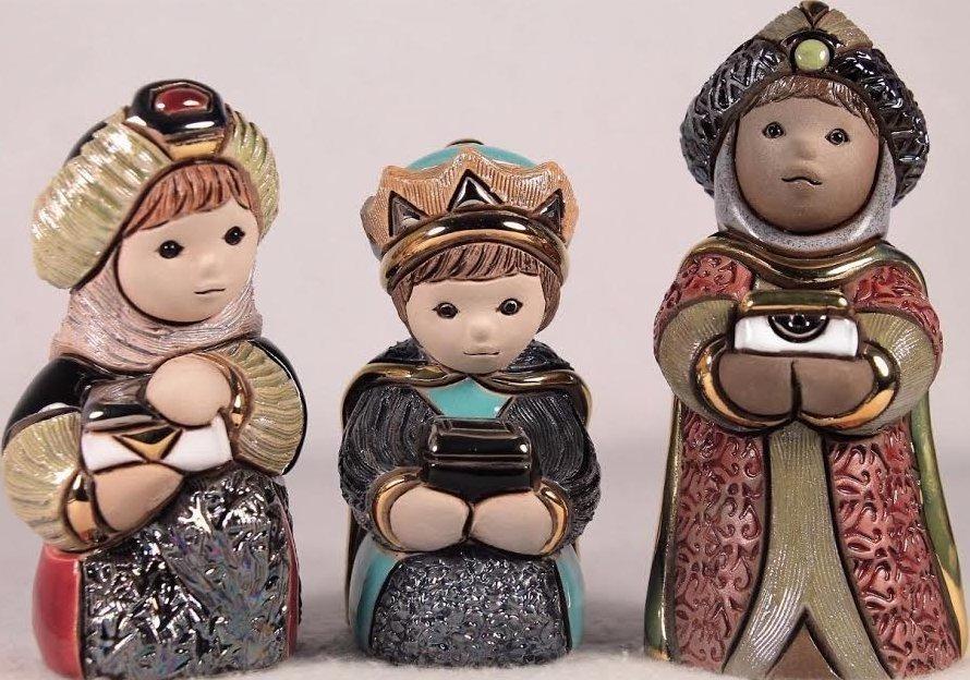 De Rosa Collections 3007 Melchior Caspar Balthazar Three Three Wise Men