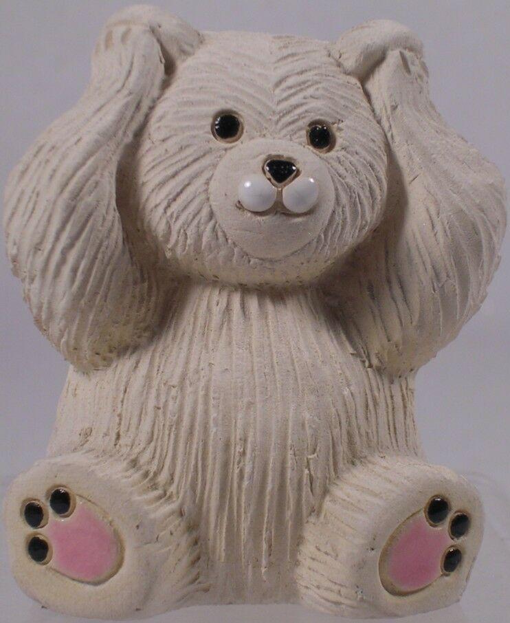 Artesania Rinconada 330A Polar Bear RARE Non U S Hear No Evil Bear