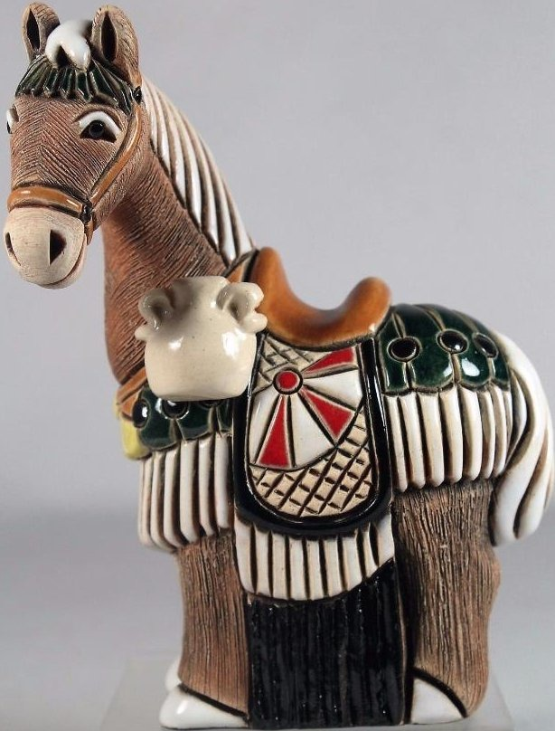 De Rosa Collections 352A Horse With Water Detail JJC Carbajales