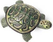 Artesania Rinconada 408 Green Turtle - Shell Great Detail