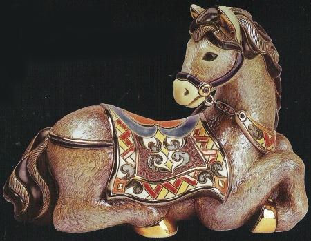 De Rosa Collections 446 Horse Resting