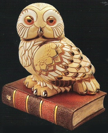 Artesania Rinconada 449 Owl On Book