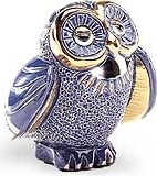 De Rosa Collections 723 Wise Blue Owl