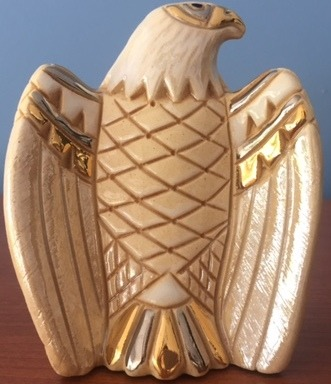 De Rosa Collections 734L Eagle RARE White on White Silver Anniversary