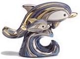 De Rosa Collections 782 Dolphin with Baby