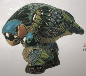 De Rosa Collections 790 Parrot With Baby