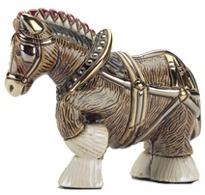 De Rosa Collections 792 Clydesdale Horse