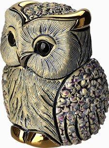 De Rosa Collections B05W Owl White Confetti Collection