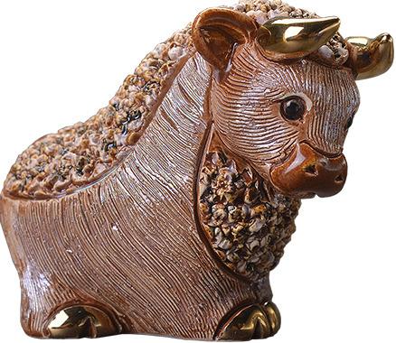 De Rosa Collections B07M Bull Brown Confetti Collection