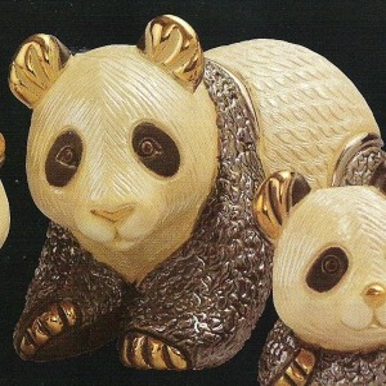 Artesania Rinconada F102 Panda Bear