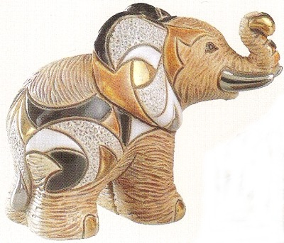 De Rosa Collections F121A African Elephant