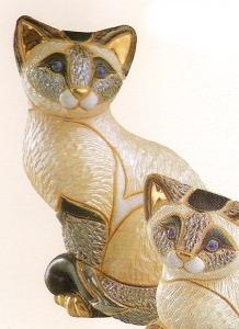 Artesania Rinconada F122 Siamese Cat Sitting