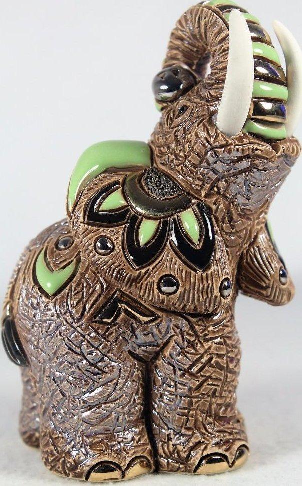 De Rosa Collections F174G Samburu Elephant Green