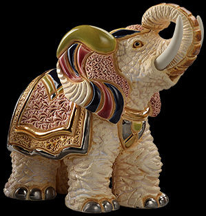 De Rosa Collections F187 White Indian Elephant