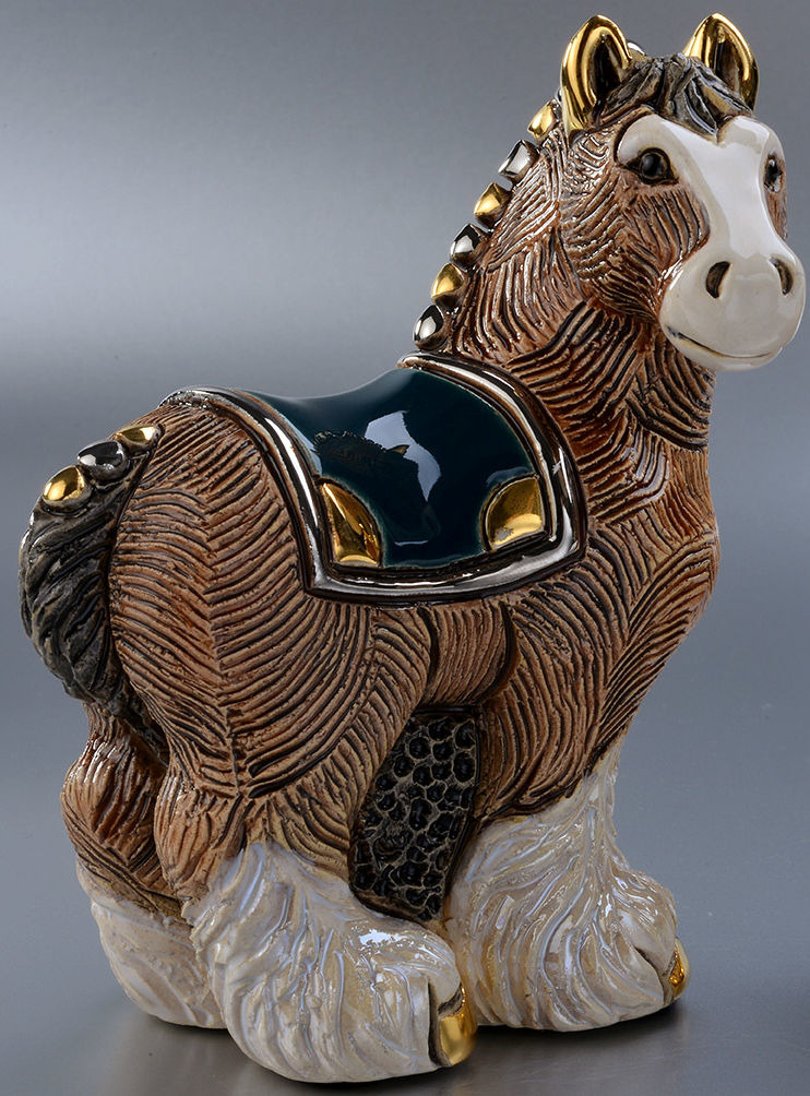 De Rosa Collections F191 Clydesdale Horse