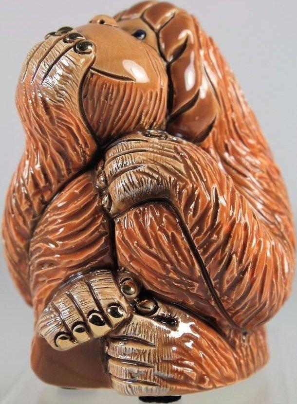 De Rosa Collections F203H Orangutan Speak No Evil