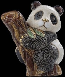 De Rosa Collections F366 Panda Bear on Tree Baby