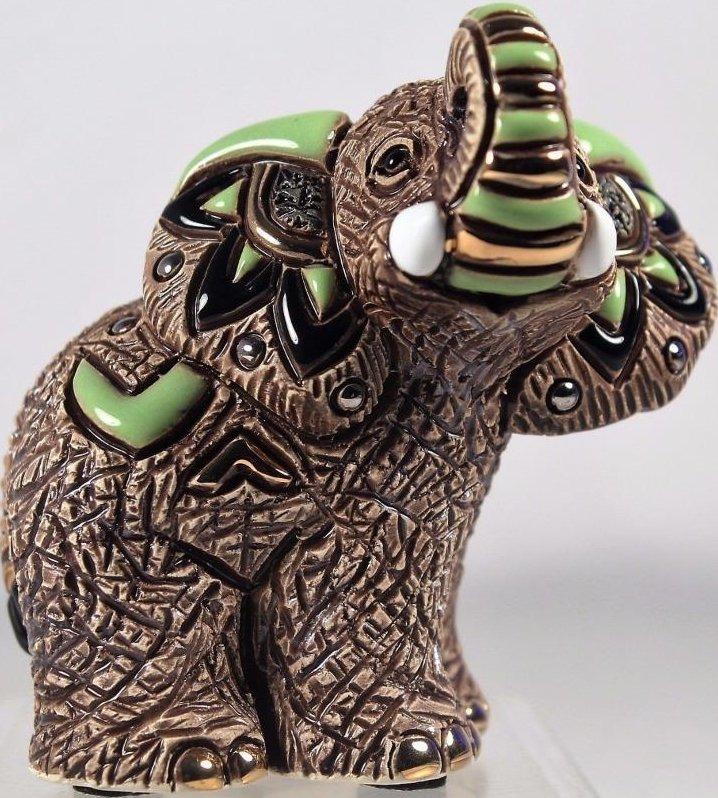 De Rosa Collections F374G Samburu Elephant Baby