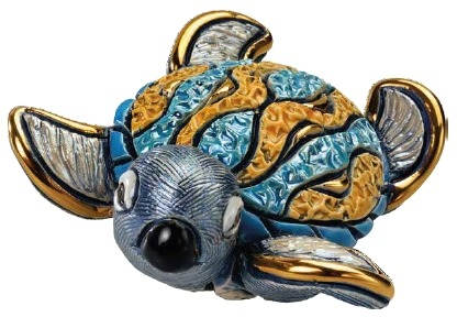 Artesania Rinconada F384 Hawksbill Sea Turtle Baby