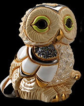De Rosa Collections F385A Winter Owl I Baby
