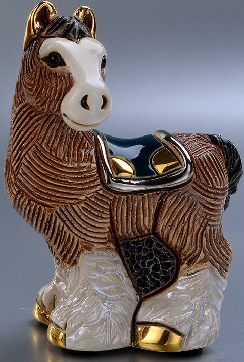 De Rosa Collections F391 Clydesdale Horse Baby