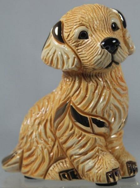 Artesania Rinconada F411 Golden Retriever Puppy Family Collection