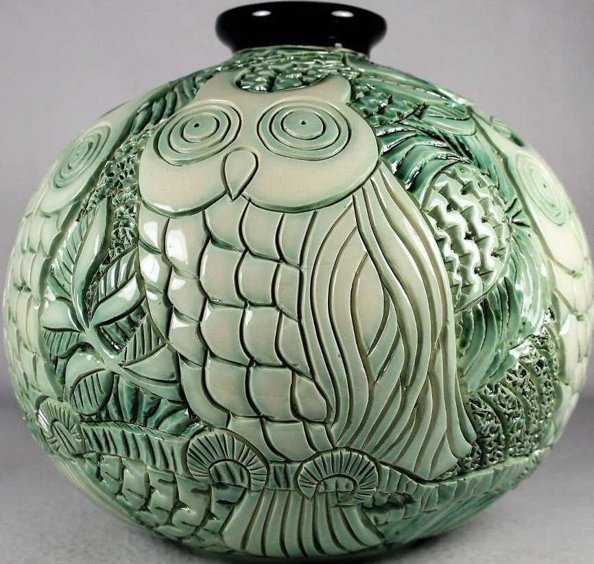 Artesania Rinconada H02 Owls Green