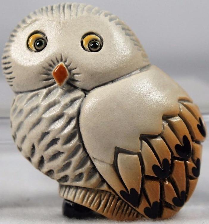 Artesania Rinconada M36 Owl Snowy Owl Magnet