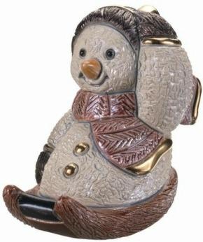 De Rosa Collections S06 Snowman & Lamp Snowman Collection