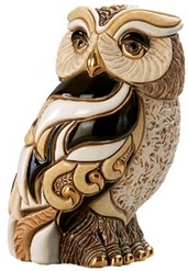 De Rosa Collections SW003 Owl Large Ruby Collection