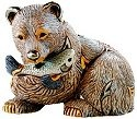 Artesania Rinconada 1023 Grizzly Bear Emerald Collection