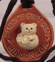 Artesania Rinconada 2006DennysBeRed Polar Bear RARE Event Medallion 2006 Dennys Red