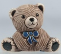 Artesania Rinconada 328C Teddy Bear Baby with Blue Tie