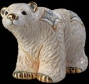 Artesania Rinconada F163 Arctic Polar Bear Family Collection